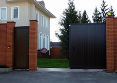 Ворота откатные в одинцово калитки и ворота из сказок
